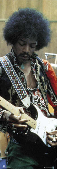 Jimi Hendrix - studio Plakat