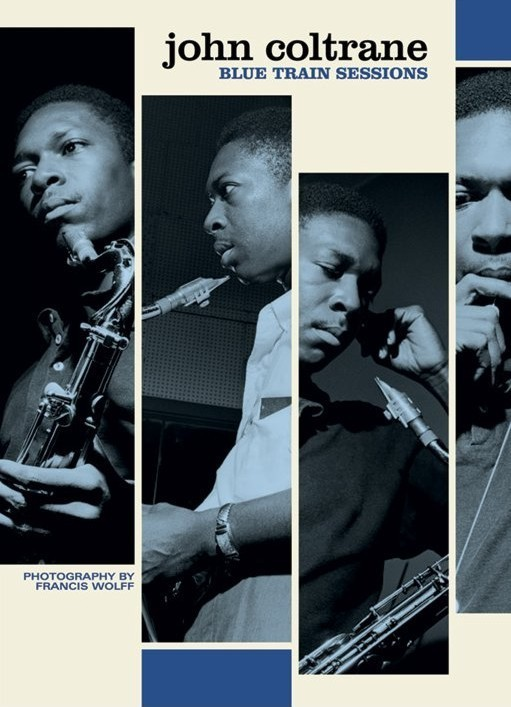John Coltrane - train session Plakat