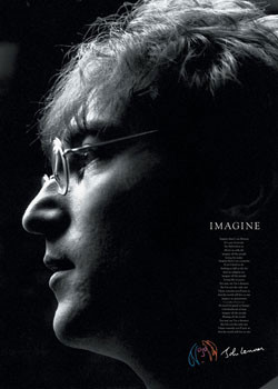 John Lennon - imagine Plakat