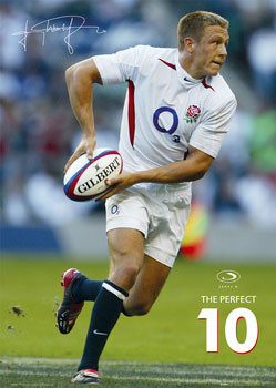 Jonny Wilkinson - perfect Plakat