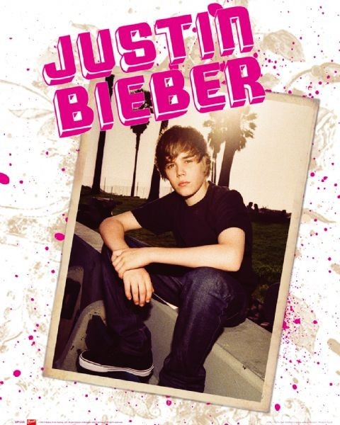 Justin Bieber - photo Plakat