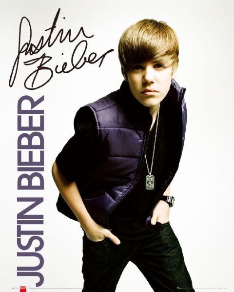 Justin Bieber - vest Plakat