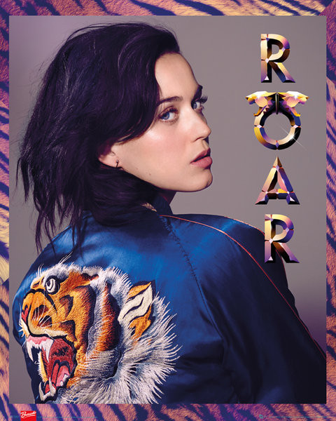 Katy Perry - roar Plakat