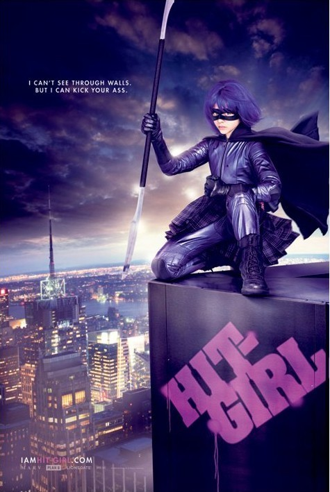 KICKASS - hit girl Plakat
