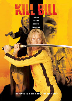 KILL BILL - montage Plakat
