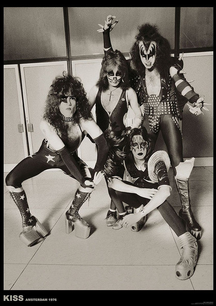 Kiss - Amsterdam 1976 Plakat