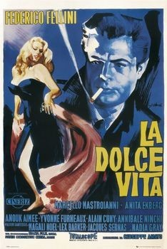 LA DOLCE VITA - one sheet Plakat