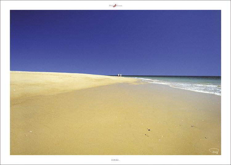 La plage ... Kunsttryk