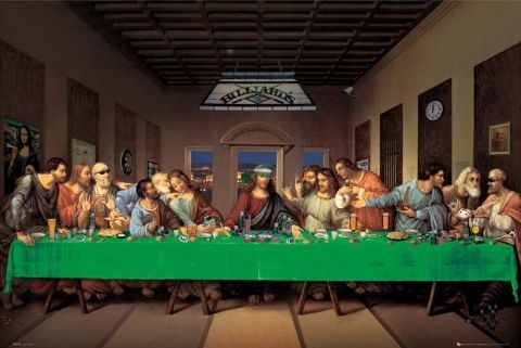 Last supper Plakat