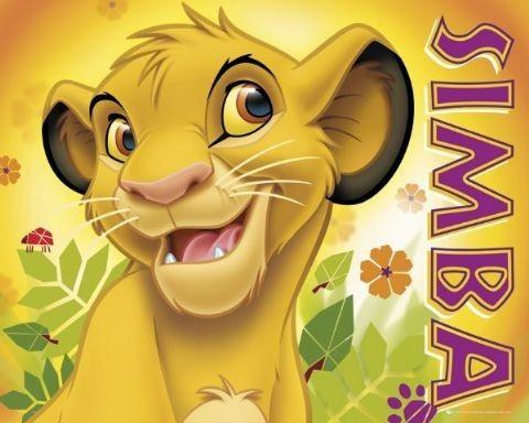 LION KING - simba Plakat