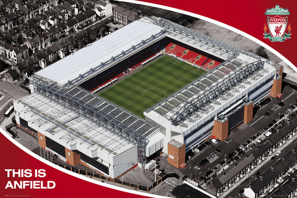 Liverpool - anfield Plakat