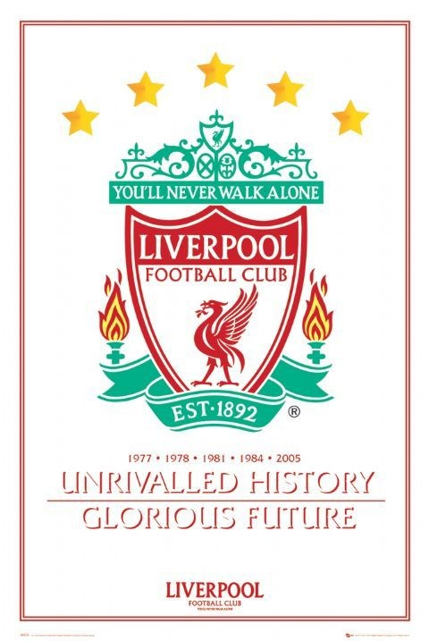 Liverpool - unrivalled history Plakat