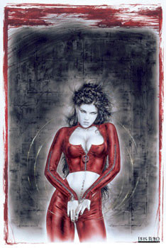Luis Royo - prohibited 3 Plakat