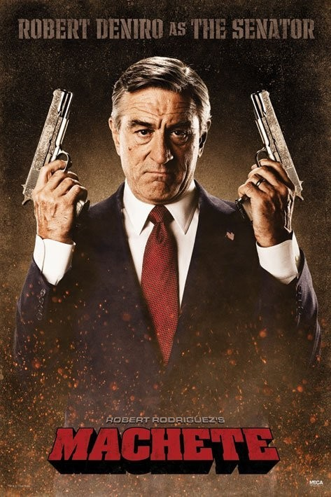 MACHETE - the senator Plakat