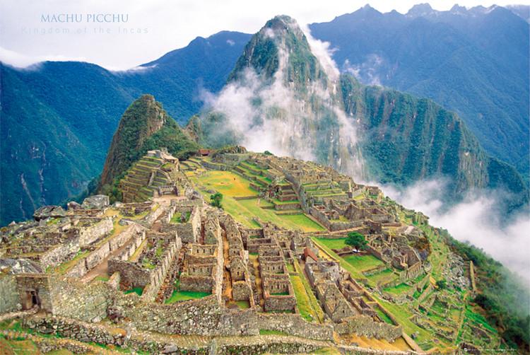 Machu Picchu Plakat