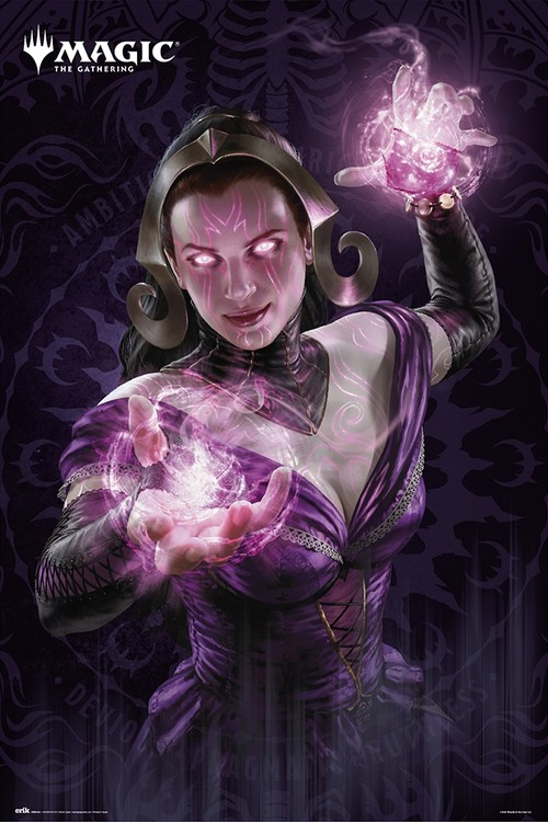 Magic The Gathering - Liliana Plakat