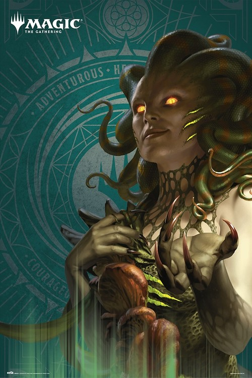 Magic The Gathering - Vraska Plakat