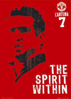Manchester United - Cantona spirit Plakat