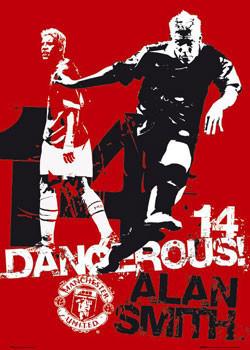 Manchester United - dangerous Plakat