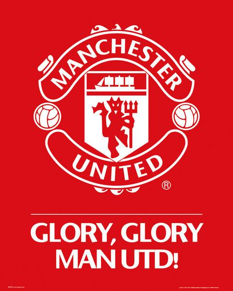 Manchester United FC - Club crest Plakat