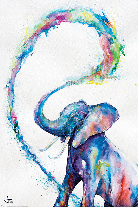 Marc Allante - Elephant Plakat