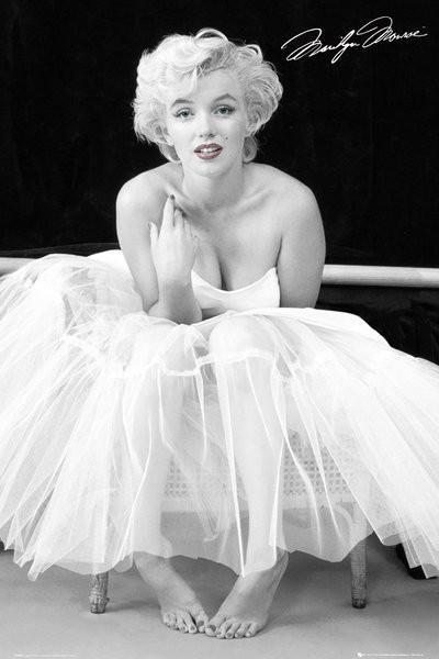 Marilyn Monroe - ballerina Plakat