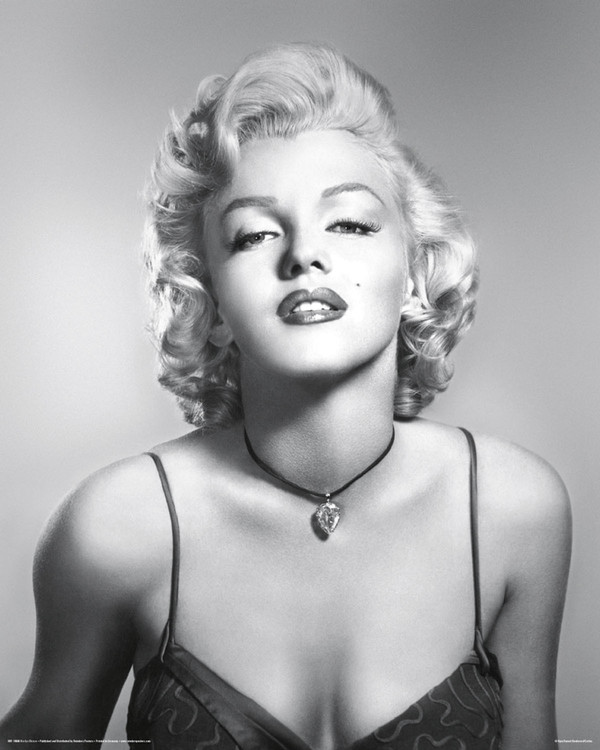 Marilyn Monroe - diamond Plakat