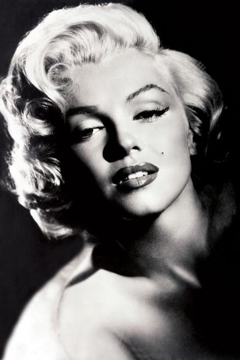 Marilyn Monroe - glamour Plakat
