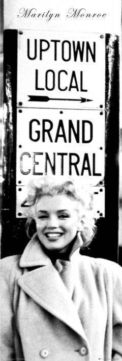 Marilyn Monroe - grand central Plakat