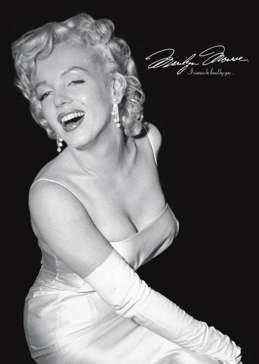 Marilyn Monroe - loved by you Plakat