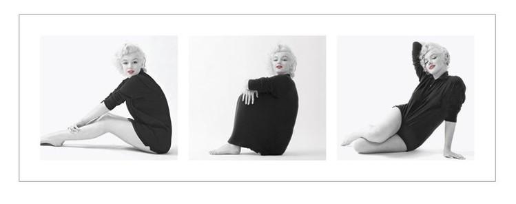 Marilyn Monroe - Sweater Triptych Kunsttryk