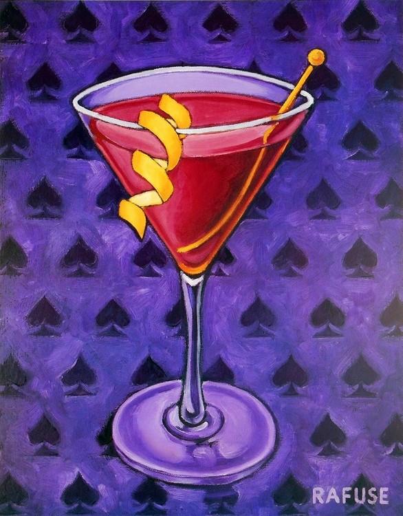 Martini Royale - Spades Kunsttryk