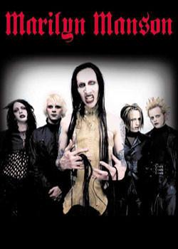 Marylin Manson - group Plakat
