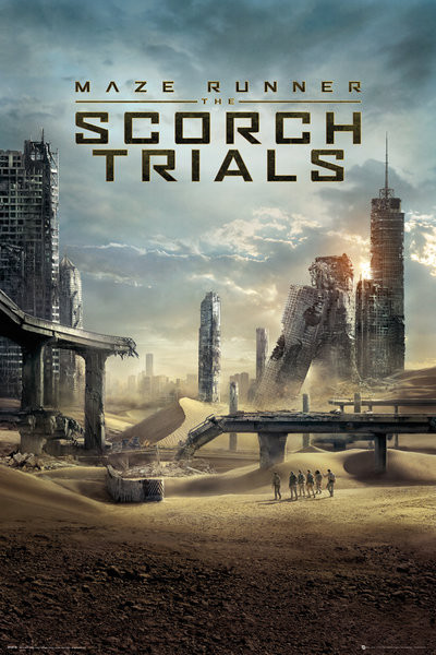 Maze Runner 2: Infernoet - One Sheet Plakat