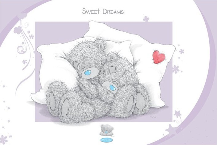 Me to you – sweet dreams Plakat