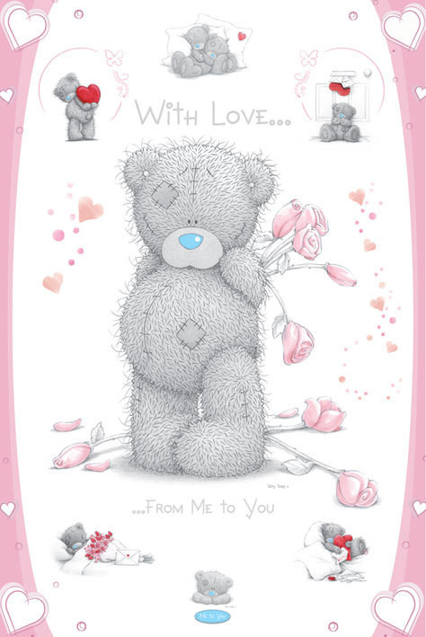 Me to you – with love Plakat