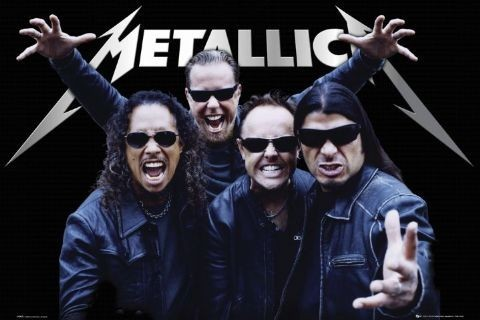 Metallica - tour Plakat