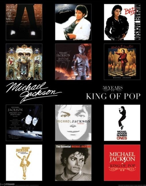 MICHAEL JACKSON - album  Plakat
