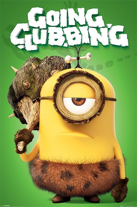 Minions (Grusomme mig) - Going clubbing Plakat