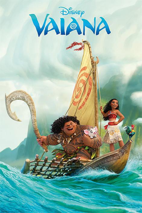 Moana - Boat Plakat