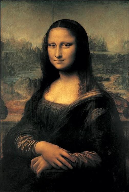 Mona Lisa (La Gioconda) Kunsttryk