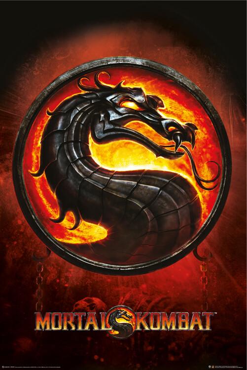 Plakat Mortal Kombat - Drage