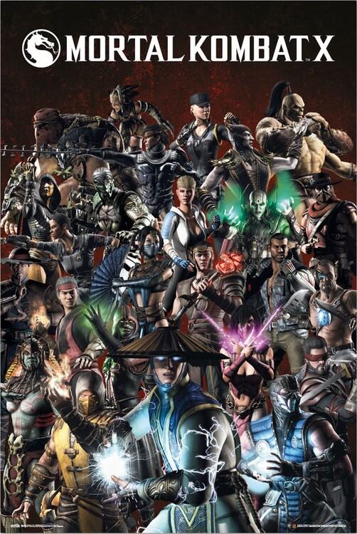 Plakat Mortal Kombat X