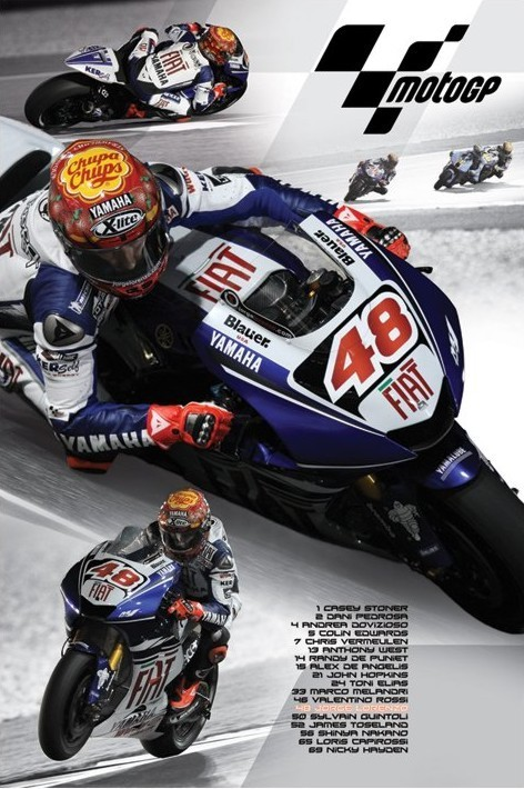 Moto GP - lorenzo Plakat