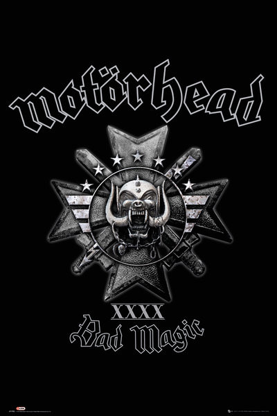 Motorhead - Bad Magic Plakat