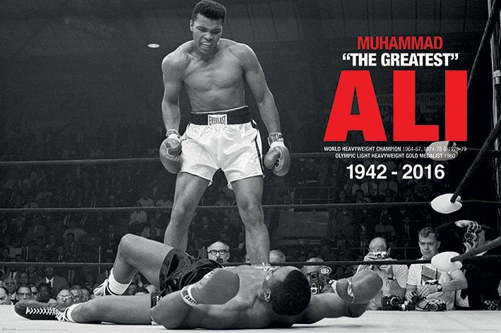 Muhammad Ali - Ali Vs Liston Plakat