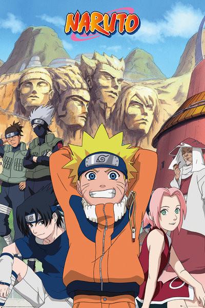 Naruto - Hokage Plakat