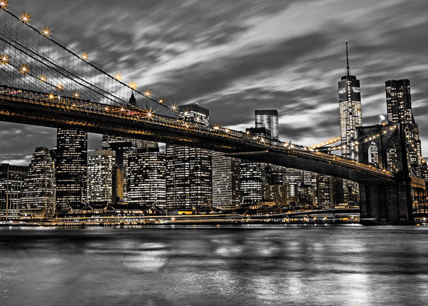 New York - Manhattan, Assaf Fank Plakat