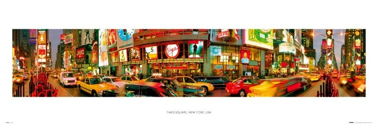 New York - Times square Plakat