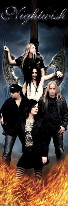 Nightwish - group Plakat